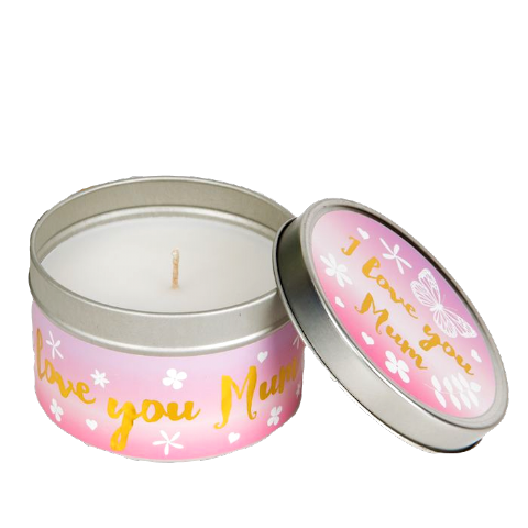 I Love You Mum Candle in a Tin